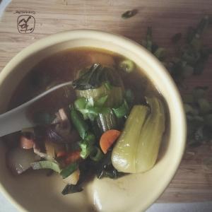 shiitake veggie soup
