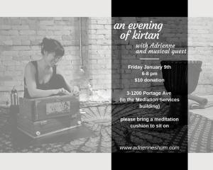 Kirtan @ Bahram's, Jan 2015