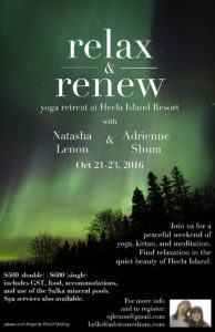 Relax and Renew Yoga Retreat in Hecla