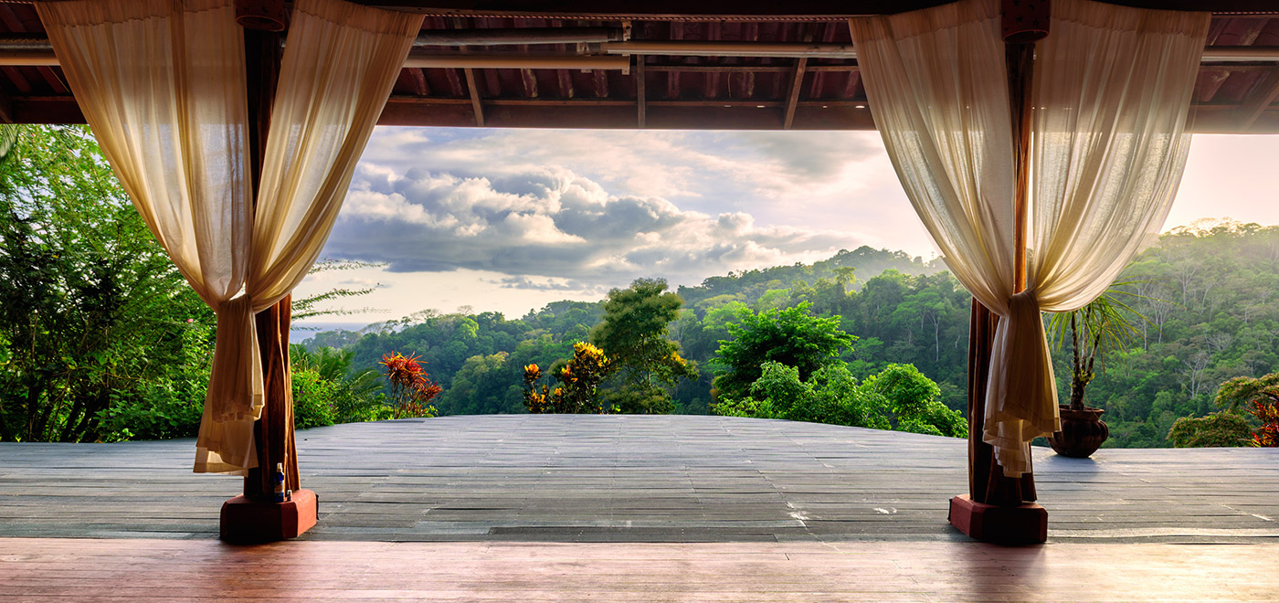 Retreats adrienne shum for How to build an outdoor yoga platform