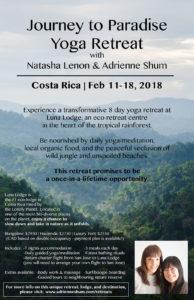Costa Rica Retreat 2018