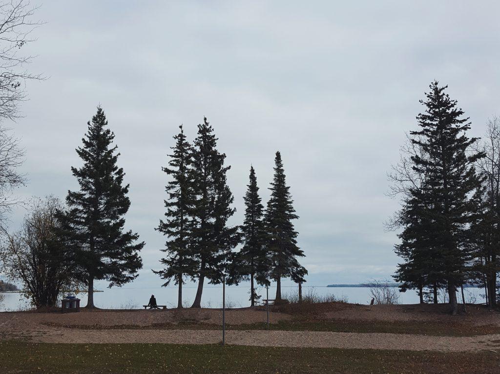 Hecla Island lakefront