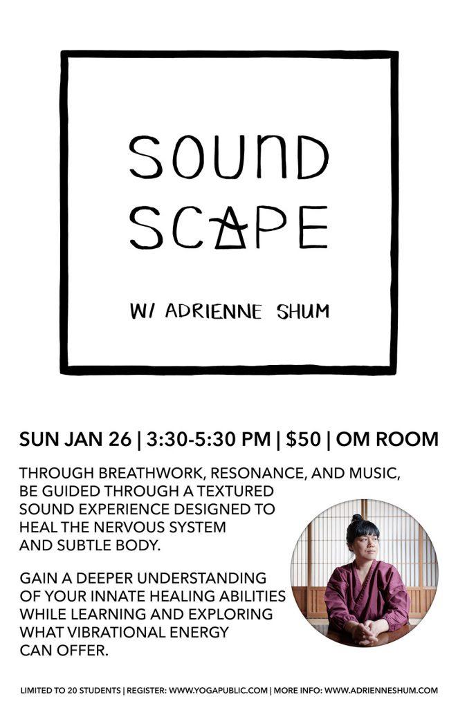 Soundscape Jan 26 2020