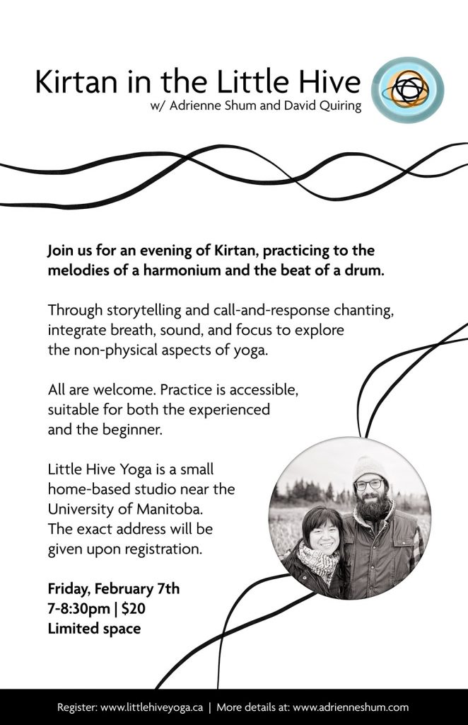 Kirtan in the Little Hive Feb 7