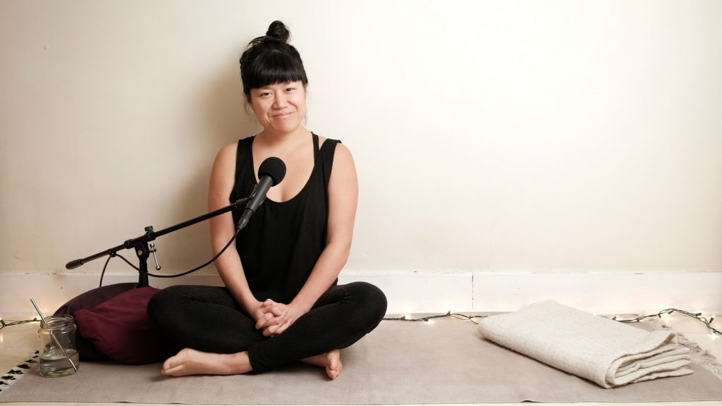 Pandemic Practice Experience Library of yoga practices Adrienne Shum