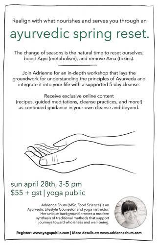 ayurvedic spring reset poster - web
